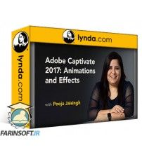 دانلود آموزش Lynda Adobe Captivate 2017: Animations and Effects