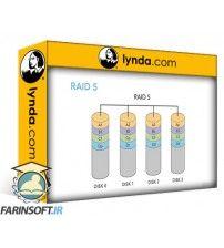 آموزش Lynda CompTIA Server+ (SK0-004) Cert Prep: 3 Storage