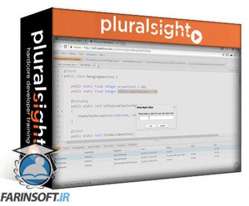 آموزش PluralSight Play by Play: Managing Data in Salesforce Using Apex