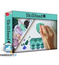 آموزش SkillFeed Gouache for Illustrators – BONUS CONTENT: Feathers, Scales and Eyes