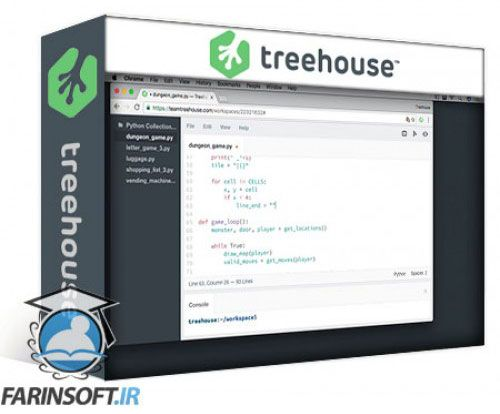 آموزش Team TreeHouse Python Collections 2017