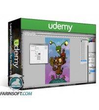 آموزش Udemy CartoonSmart Photoshop Tutorial on Digital Painting and Inking