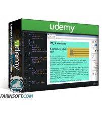 آموزش Udemy Create a Website from Scratch using HTML CSS step by step