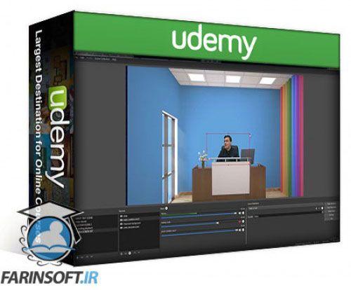 آموزش Udemy Open Broadcaster Software – OBS Live Streaming Course