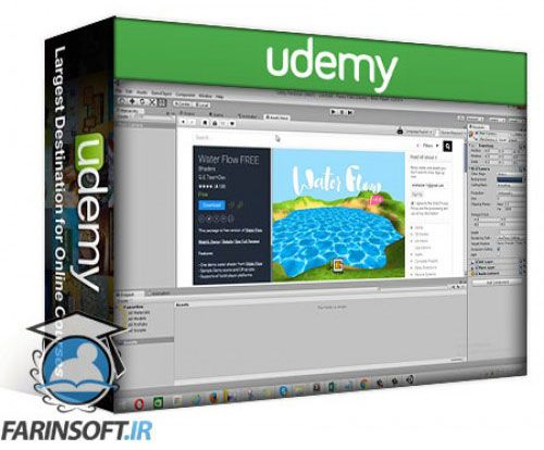 آموزش Udemy Unity3d Android Game Development without Programming Skills