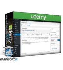 آموزش Udemy WordPress E-Commerce With WooCommerce: Novice To Store Owner
