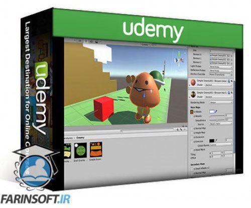 آموزش Udemy Build and model a Super MARLO runner clone in Unity3D