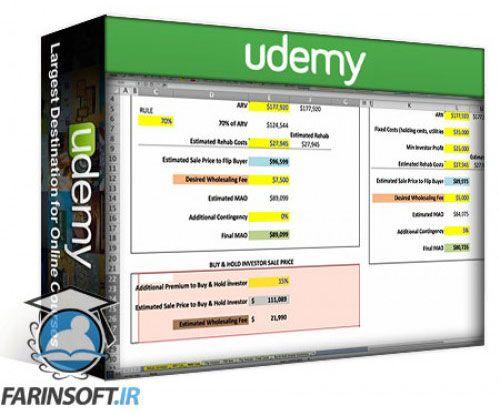 آموزش Udemy Intro to Wholesaling Investment Analysis for Beginners