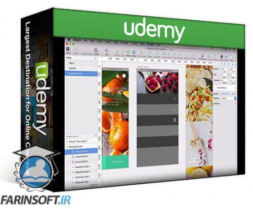 آموزش Udemy The Complete Mobile App Design Course Using Sketch 3