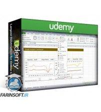 دانلود آموزش Udemy Excel Dashboards in an Hour