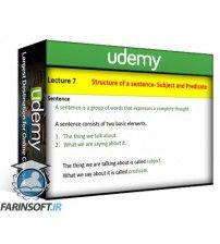 آموزش Udemy Improve your English Step by Step with Easy Grammar