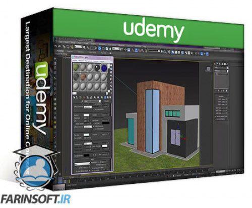 آموزش Udemy Learn 3ds max and vray : Making of House in the Forest