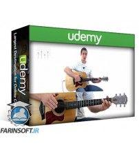 آموزش Udemy Acoustic Fingerstyle Guitar Course: Beginner to Advanced