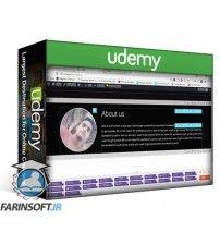 آموزش Udemy Create eye-catching WordPress website from scratch