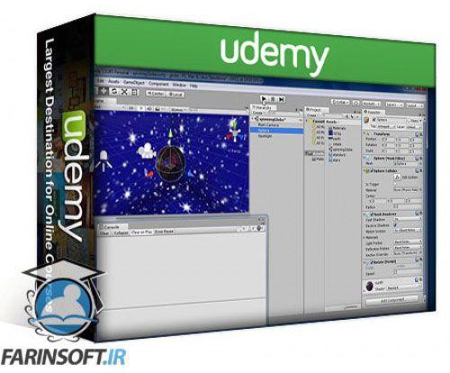 آموزش Udemy A beginners guide to C# Scripting for Unity Game Development