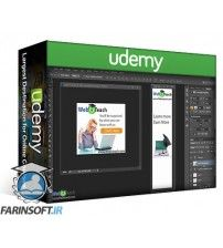 دانلود آموزش Udemy Create Animated Gif Advertising Banners in Photoshop CC