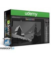 دانلود آموزش Udemy Concept Painting in Photoshop