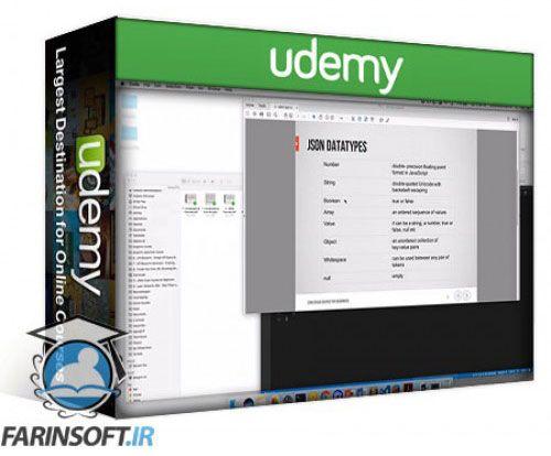 آموزش Udemy JSON Crash Course for Beginners