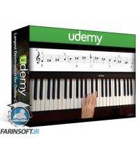 آموزش Udemy Playing Piano: Scales and Arpeggios Vol.I : Major keys
