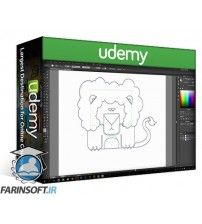 دانلود آموزش Udemy Adobe Illustrator: How to Draw Squared Animals Icons