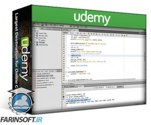 آموزش Udemy Learn C Programming from Scratch