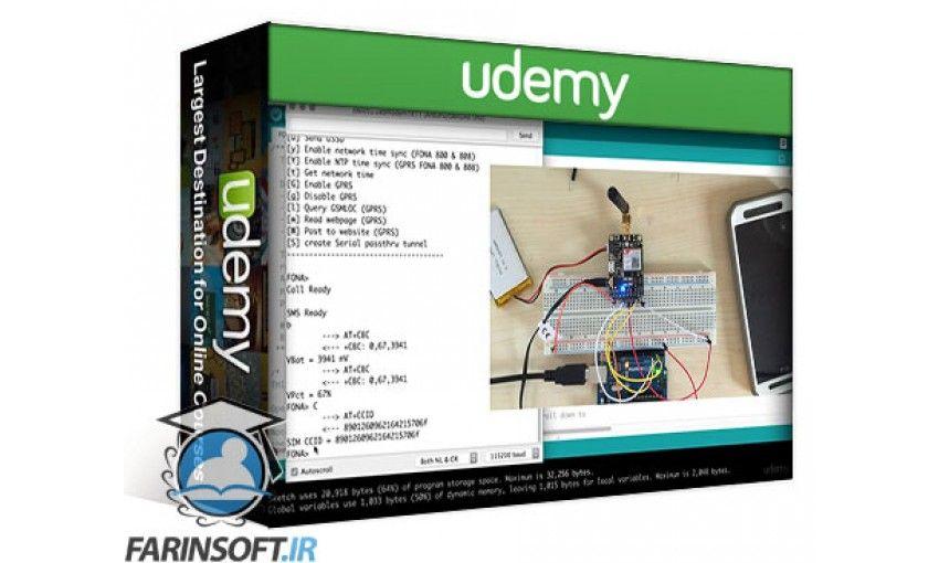 دانلود آموزش Udemy Arduino Bootcamp Learning Through Projects