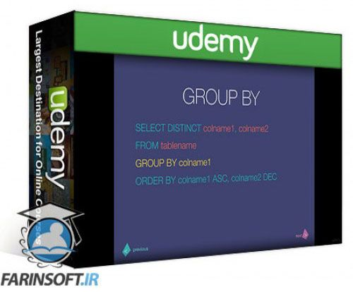 آموزش Udemy MySQL – An Intro Course into MySQL through SQL Queries
