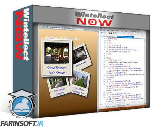 آموزش WintellectNow CSS3 Transitions and Transforms
