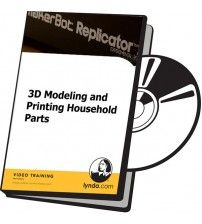 دانلود آموزش Lynda 3D Modeling and Printing Household Parts
