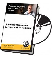 دانلود آموزش Lynda Advanced Responsive Layouts with CSS Flexbox