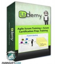 آموزش Udemy Agile Scrum Training + Scrum Certification Prep. Training