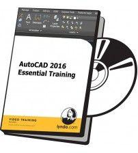 دانلود آموزش Lynda AutoCAD 2016 Essential Training