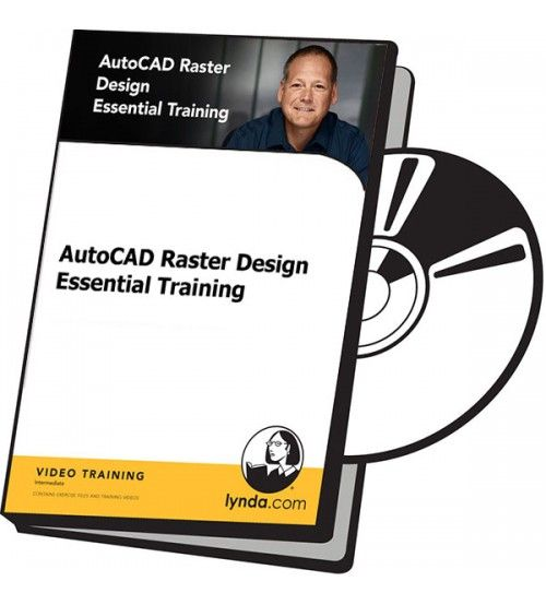 آموزش Lynda AutoCAD Raster Design Essential Training