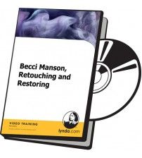 دانلود آموزش Lynda Becci Manson, Retouching and Restoring