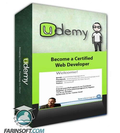 آموزش Udemy Become a Certified Web Developer