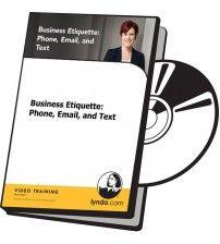 آموزش Lynda Business Etiquette: Phone, Email, and Text