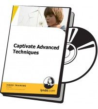 آموزش Lynda Captivate Advanced Techniques