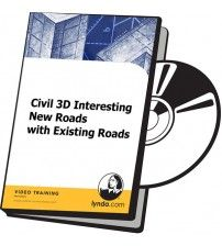 آموزش Lynda Civil 3D Interesting New Roads with Existing Roads