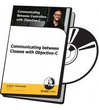 آموزش Lynda Communicating between Classes with Objective-C