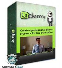 آموزش Udemy Create a professional phone presence for less than coffee