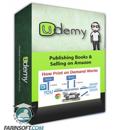 آموزش Udemy CreateSpace Publishing: Publishing Books & Selling on Amazon
