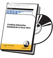 دانلود آموزش Lynda Creating Interactive Dashboards in Excel 2013