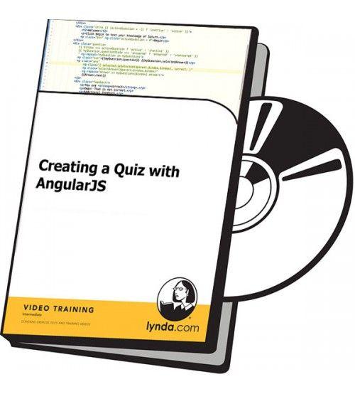آموزش Lynda Creating a Quiz with AngularJS