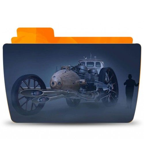 آموزش Digital Tutors Creating a Steampunk Concept Vehicle in Photoshop