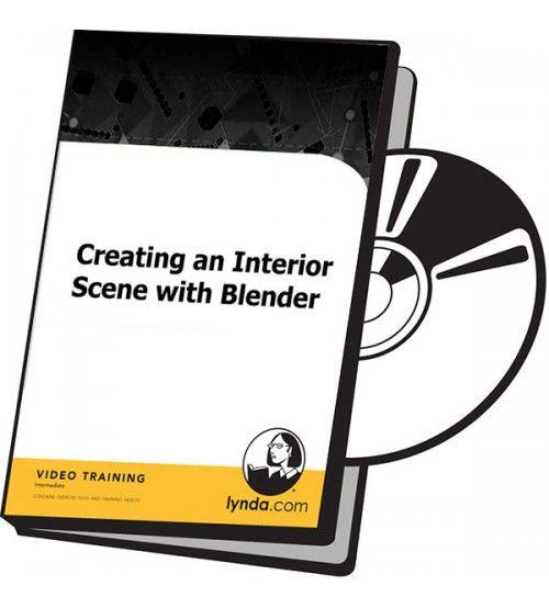 آموزش Lynda Creating an Interior Scene with Blender