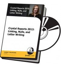 آموزش Lynda Crystal Reports 2013: Linking, Nulls, and Letter Writing