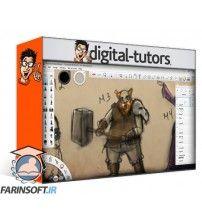آموزش Digital Tutors Professional Tips for Creating Thumbnails in SketchBook Pro