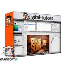 آموزش Digital Tutors Building Attractive Banner Ads in Flash and Photoshop
