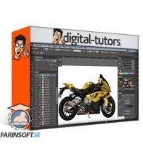 آموزش Digital Tutors Designing a Vector Illustration for Advertisements in Illustrator