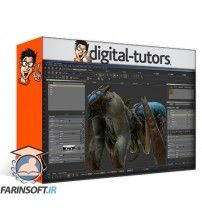 آموزش Digital Tutors Texturing Game Assets in MARI